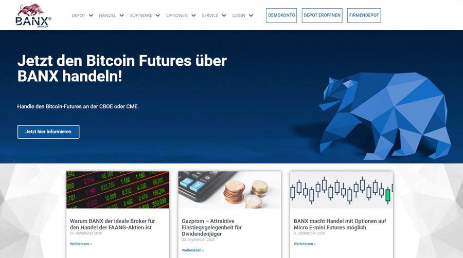 BanxBroker - Weltweiter Börsenhandel