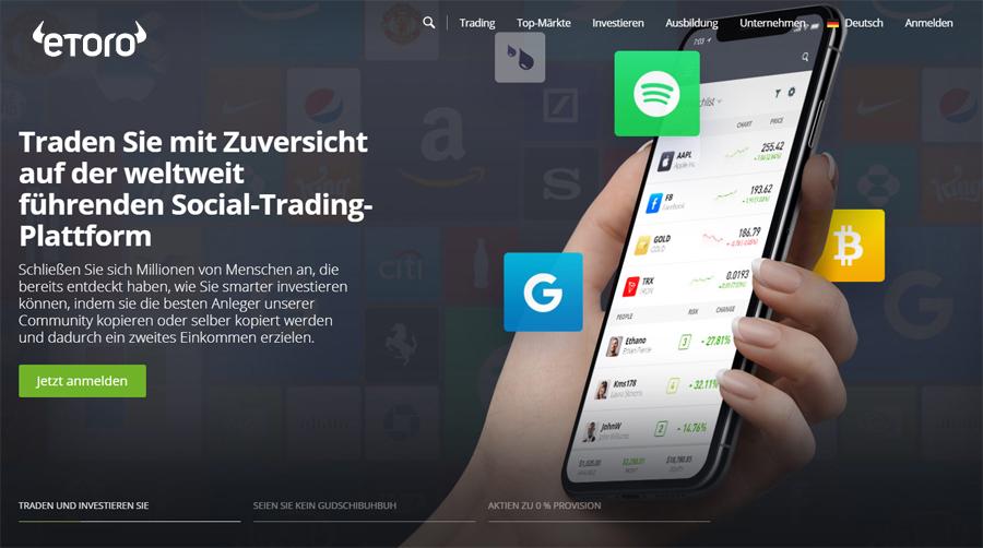 eToro - Das beste Social Trading Netzwerk
