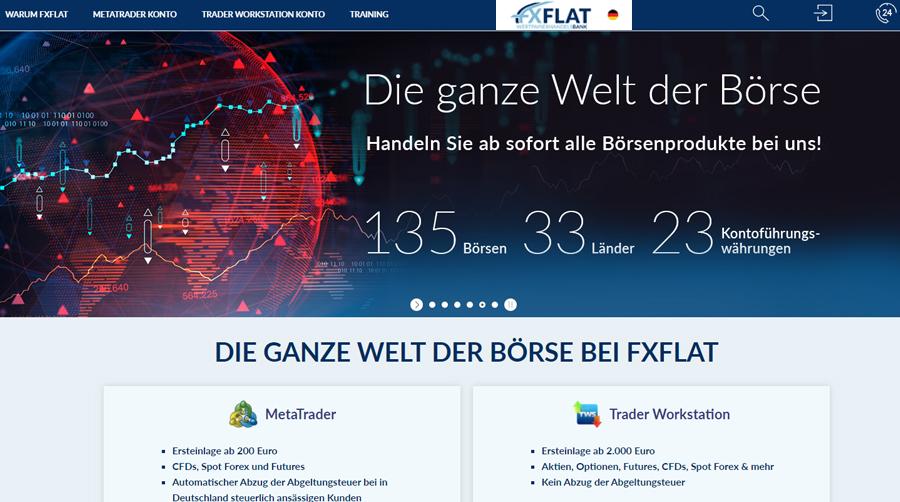 FXFlat - Online Trading leicht gemacht